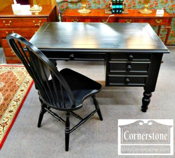 5965-552 - Black Desk and Chair