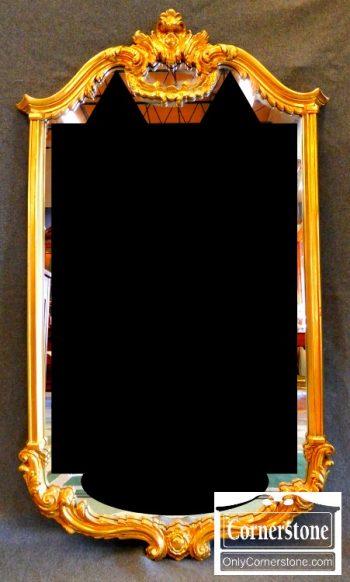 5965-567 Gold Mirror 50x30