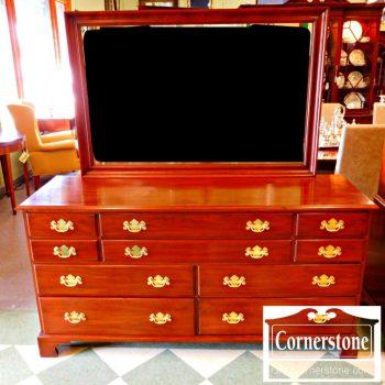 5965-616 Henkel Harris Dresser and Mirror
