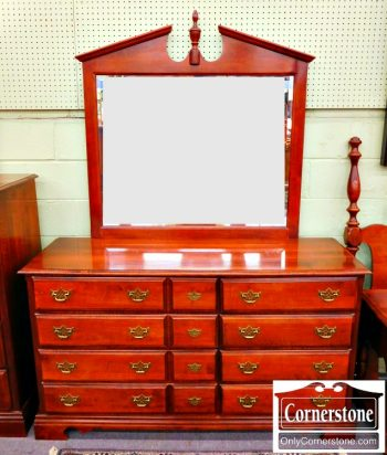5965-629 Kincaid Solid Cherry Dresser with Mirror