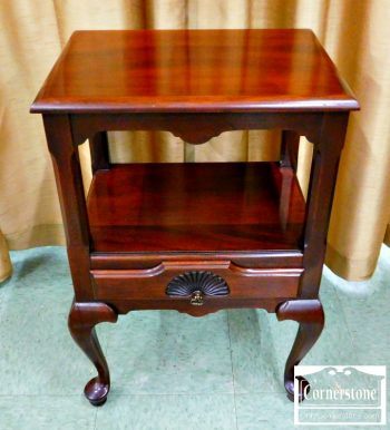 5965-653 - Georgetown Galleries Solid Mahogany Night Stand