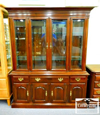 5965-677 - Temple Stuart Solid Cherry China Cabinet