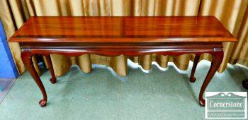 5965-695 - Cherry Queen Anne Sofa Table