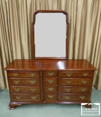 5965-746 - Pennsylvania House Solid Cherry Dresser with Mirror