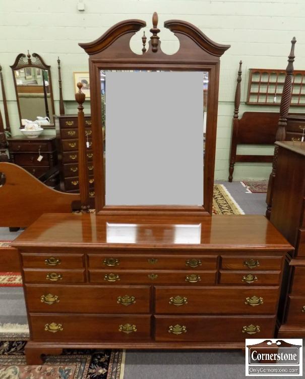 Antique Cherry Dresser With Mirror Designs