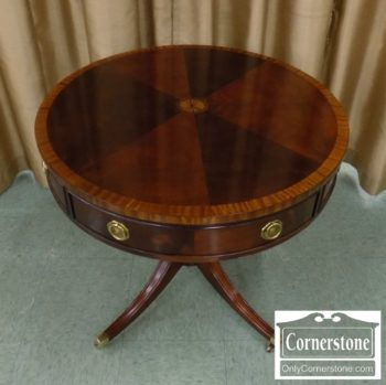 5965-863 - Hickory Chair (James River Plantation) Mah Drum Table