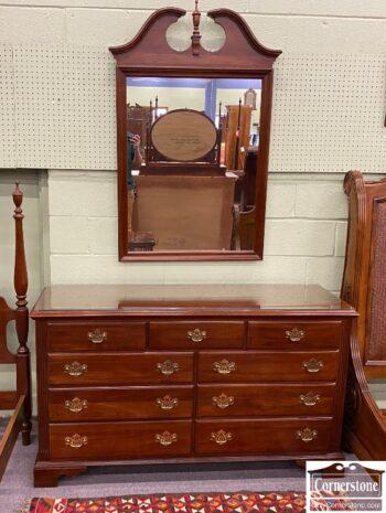 5966-1000 - Knob Creek Dresser and Mirror
