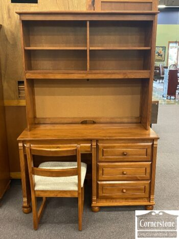 5966-1035 - Bellini Desk w Bookcase Top