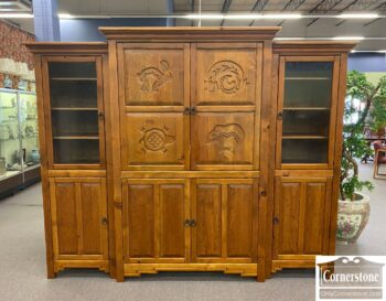 5966-1045 - Cabinet Made Entertainment Center