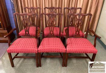 5966-1063 - 6 EA Mah Chipp Dining Chairs