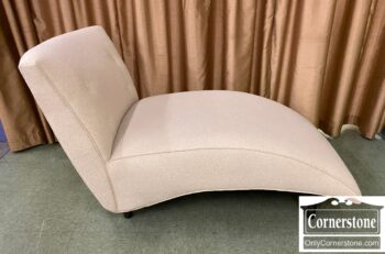 5966-1080 - Off White Contemporary Chaise