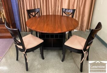 5966-1150 - Crate and Barrel DL Tbl and 4 Chairs