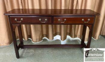 5966-1180 - Kincaid Mah 2 Drw Sofa Table