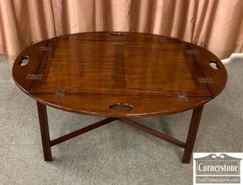 5966-1220 - Mah Butler Tray Table