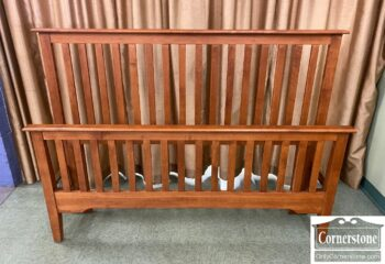 5966-1225 - Made in Canada Slatted Q Bed