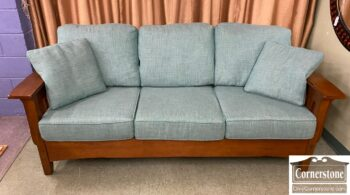 5966-1246 - Miss Styl Sofa and Chair Turquoise