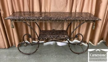 5966-1261 - Metal Sofa Table Faux MT
