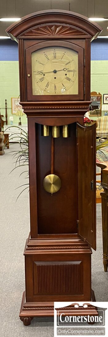 5966-1288 - EA Sol Cher Cont Tall Case Clock