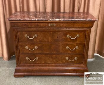 5966-1317 - Henredon Mixed Wood mt Chest