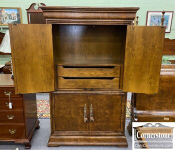 5966-1320 - Henredon Mixed Armoire Charles X