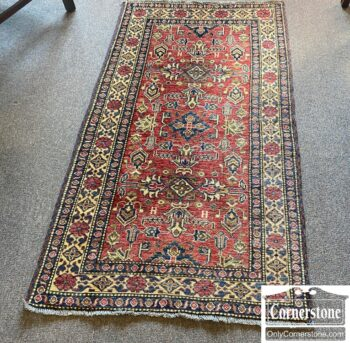 5966-1329 - Hand Knotted Wool Rug