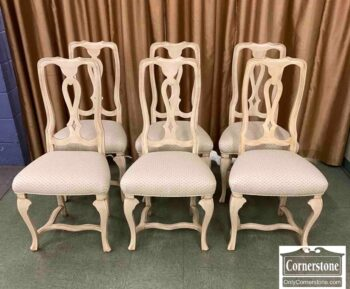 5966-1401 - 6 Fr Styl Side Chairs - White Finish