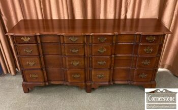 5966-1456 - Mah Chipp Blockfront Dresser