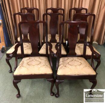 5966-1606 - Set of 8 HH QA Chairs