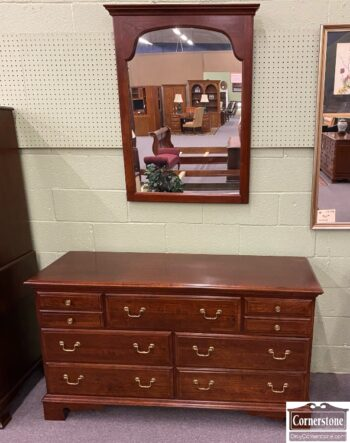 5966-1624-PA House Chipp Dresser with Mirror
