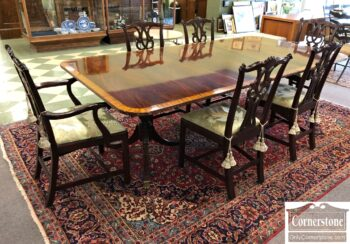 kittinger table and chairs for sale