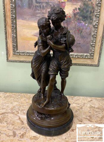 5966-1706-Bronze Figure - Moreau