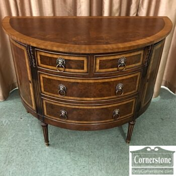 classic inlaid chest for foyer