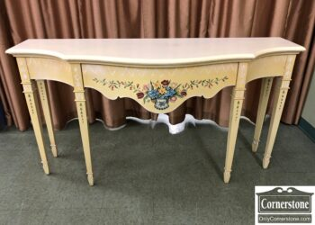 painted console credenza
