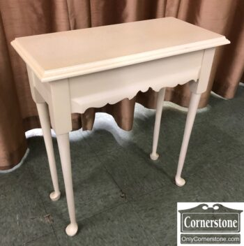 5966-1755-Small White Wall Table