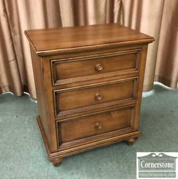 5966-1781-EA Solid Maple Bedside Chest