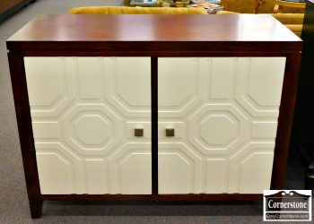 5966-179-dark-wood-credenza-with-white-painted-doors