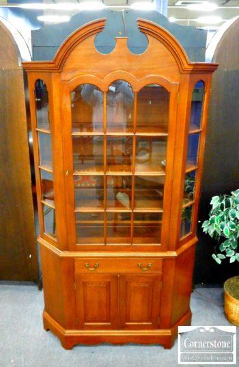 5966-247 - Biggs Solid Mahogany China Cabinet