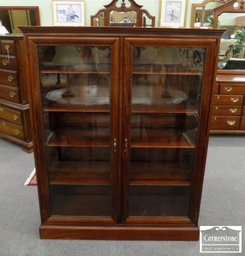 5966-258 - 2 Door Mahogany Bookcase
