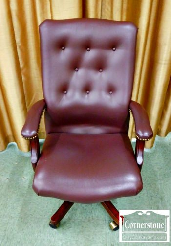 5966-278 - Swivel Faux Leather Executive Chair