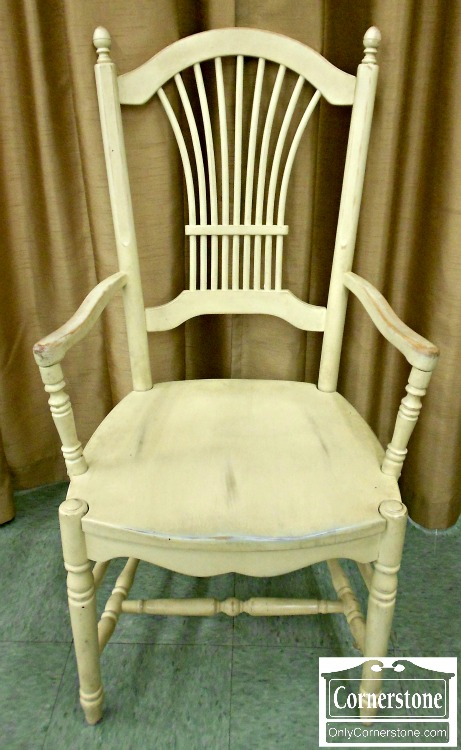 5966-4 Set of 10 Off White Casual Dining Chairs