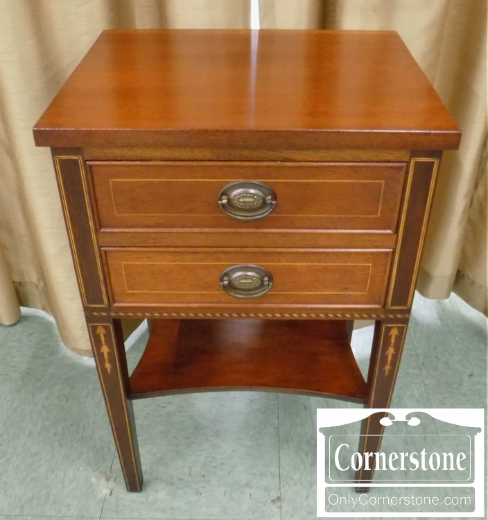 Potthast Mahogany Hepplewhite Inlaid Stand | Baltimore, Maryland Furniture  Store U2013 Cornerstone