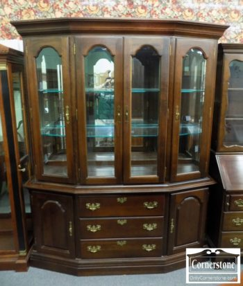 5966-415 - Kincaid Solid Cherry China Cabinet