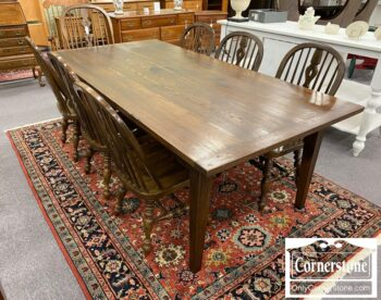 5966-515 - Sol Oak Rustic Farm Table