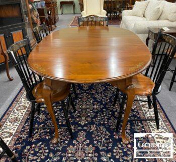 5966-547 - Hitch Mpl Tbl 1 Lf 4 Chairs