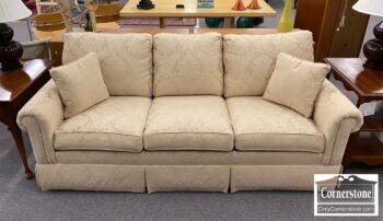 5966-557 - Ethan Allen Champagne Damask Sofa