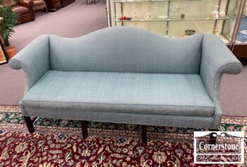 5966-623 - Teal Camelback Chipp Sofa