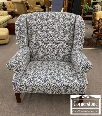 5966-640 - Johnson Benchworks Wingback Chr and Half