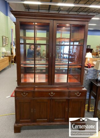 Statton Solid Cherry China Cabinet
