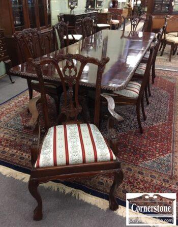 5966-727 - Mah Table 2 Lvs Pads 8 Chipp Chairs