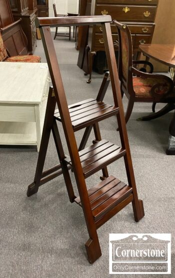 5966-734 - Folding Library Ladder